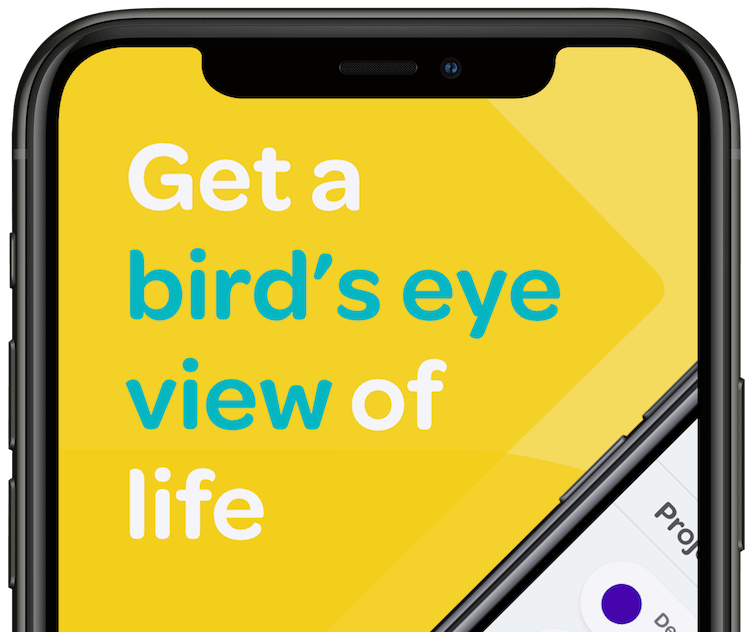 Mobile View - Get a Bird's Eye View